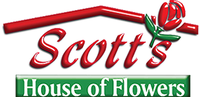 Scott's House of Flowers Logo